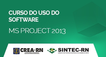 CURSO DO USO DO SOFTWARE MS PROJECT 2013